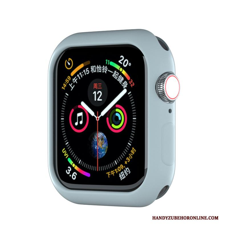 Apple Watch Series 2 Bescherming Trendy Merk Blauw Persoonlijk Hoes Hoesje Sport