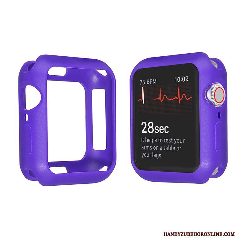 Apple Watch Series 2 Hoesje Doorzichtig Bescherming Dun Snoep Zacht Purper