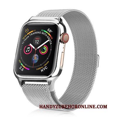 Apple Watch Series 2 Nieuw Hoes Purper Hoesje All Inclusive Metaal Bescherming