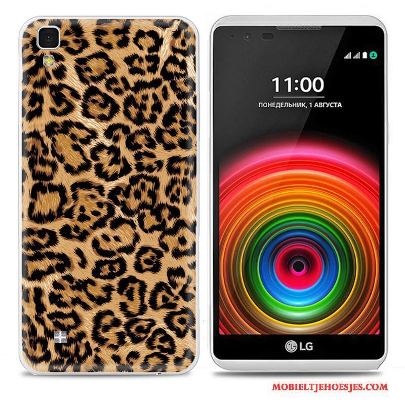Lg X Power Hoesje Kleur Bescherming Telefoon Geschilderd Persoonlijk Zacht