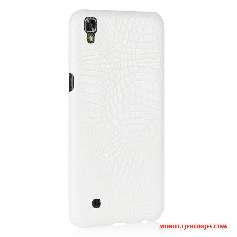Lg X Power Mobiele Telefoon Krokodillenleer Hoes Hard Anti-fall Hoesje Bescherming
