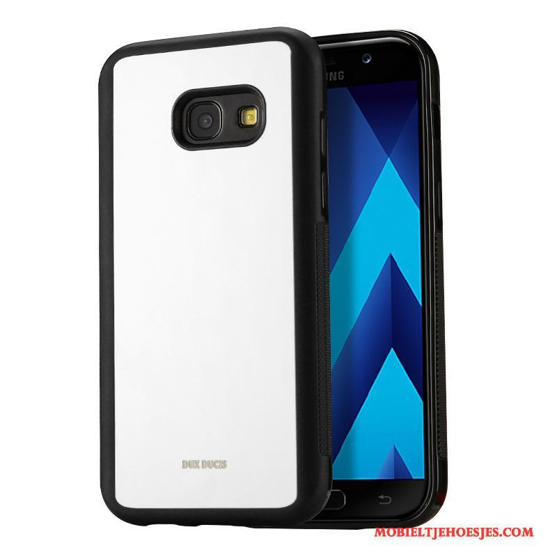 Samsung Galaxy A3 2017 Hoesje Anti-fall Mobiele Telefoon Zacht Hoes Bescherming Zwart Ster