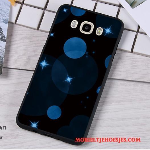 Samsung Galaxy J7 2016 Bescherming Hoes Zacht Trend Ster Hoesje Telefoon Anti-fall