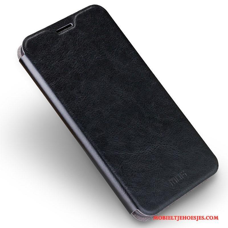 Samsung Galaxy J7 2016 Ster Siliconen Leren Etui Hoes Hoesje Telefoon Mobiele Telefoon Bruin