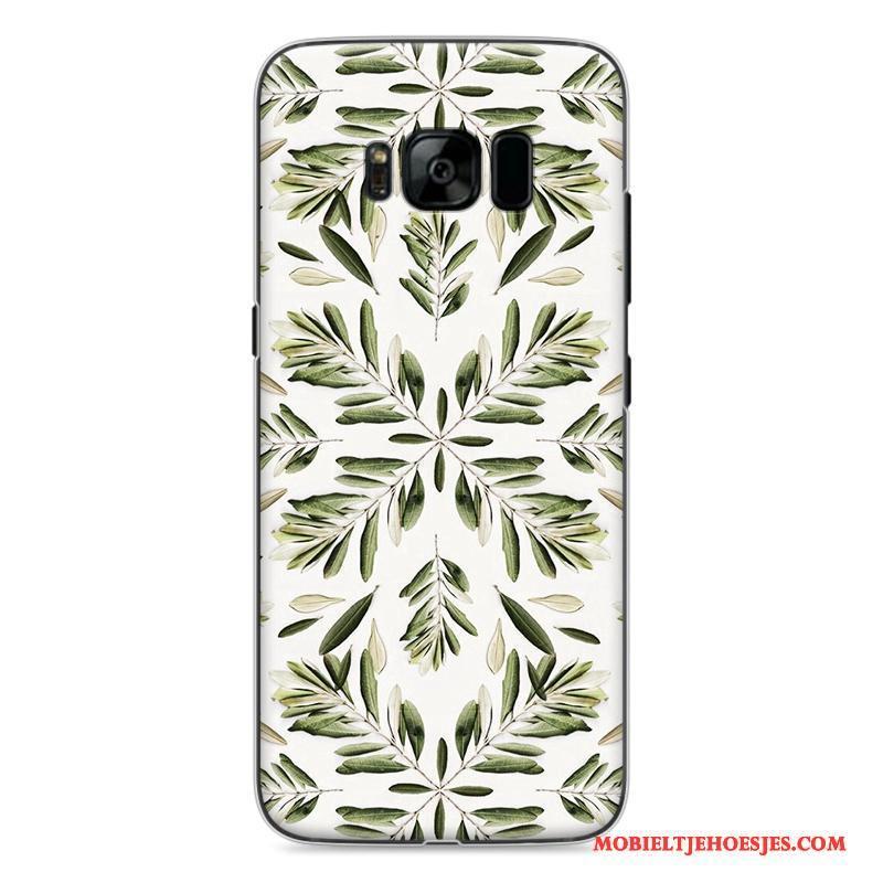 Samsung Galaxy S8 Hard Hoesje Telefoon Spotprent Bescherming Ster Rood Geschilderd