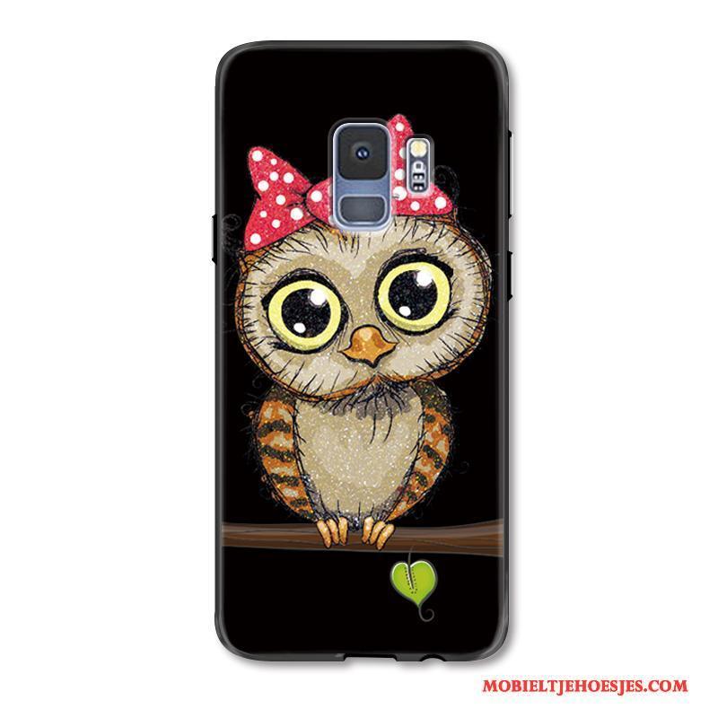 Samsung Galaxy S9+ Spotprent Anti-fall Bescherming Lovers Hoes Trend Hoesje Telefoon