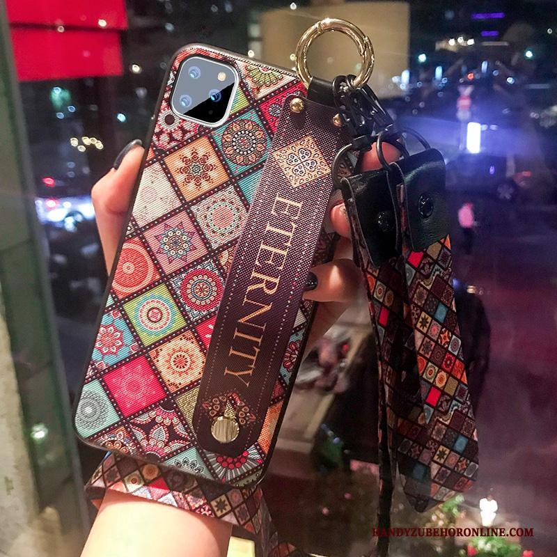 iPhone 11 Pro Max Hanger Luxe Totem Anti-fall Hoesje Telefoon Scheppend Persoonlijk