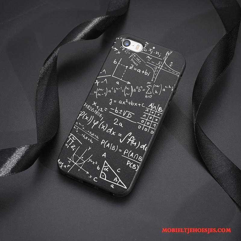 iPhone 5/5s Hoes Persoonlijk Zwart Hoesje Telefoon Anti-fall Mobiele Telefoon