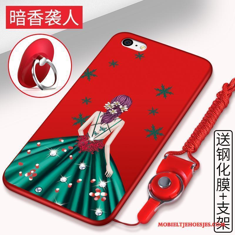 iPhone 5c Anti-fall All Inclusive Siliconen Hoesje Telefoon Hanger Bescherming Zacht