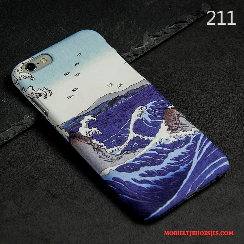 iPhone 6/6s Bescherming Dun Hoes Geel Hoesje Telefoon Schrobben Anti-fall