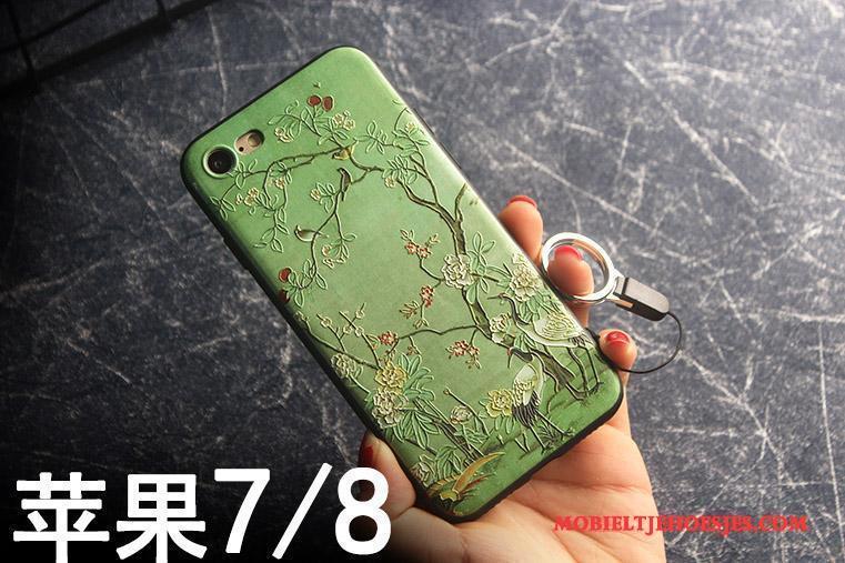 iPhone 7 Hanger Blauw Hoes All Inclusive Hoesje Telefoon Anti-fall Bescherming