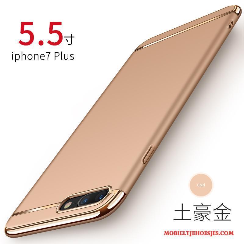 iPhone 7 Plus Schrobben Anti-fall Hoesje Bescherming Telefoon Rood