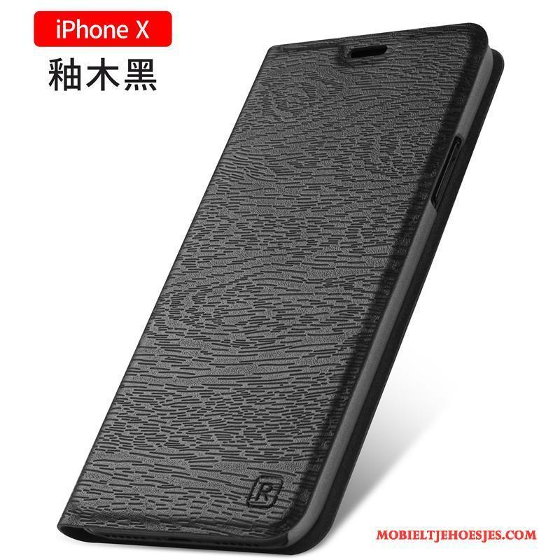 iPhone X Nieuw Bescherming All Inclusive Anti-fall Hoes Clamshell Hoesje Telefoon