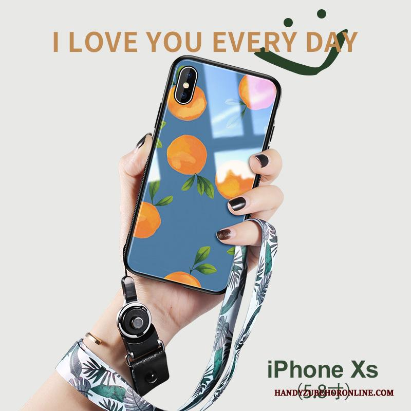 iPhone Xs Glas Nieuw Mini All Inclusive Anti-fall Hoesje Telefoon Kunst