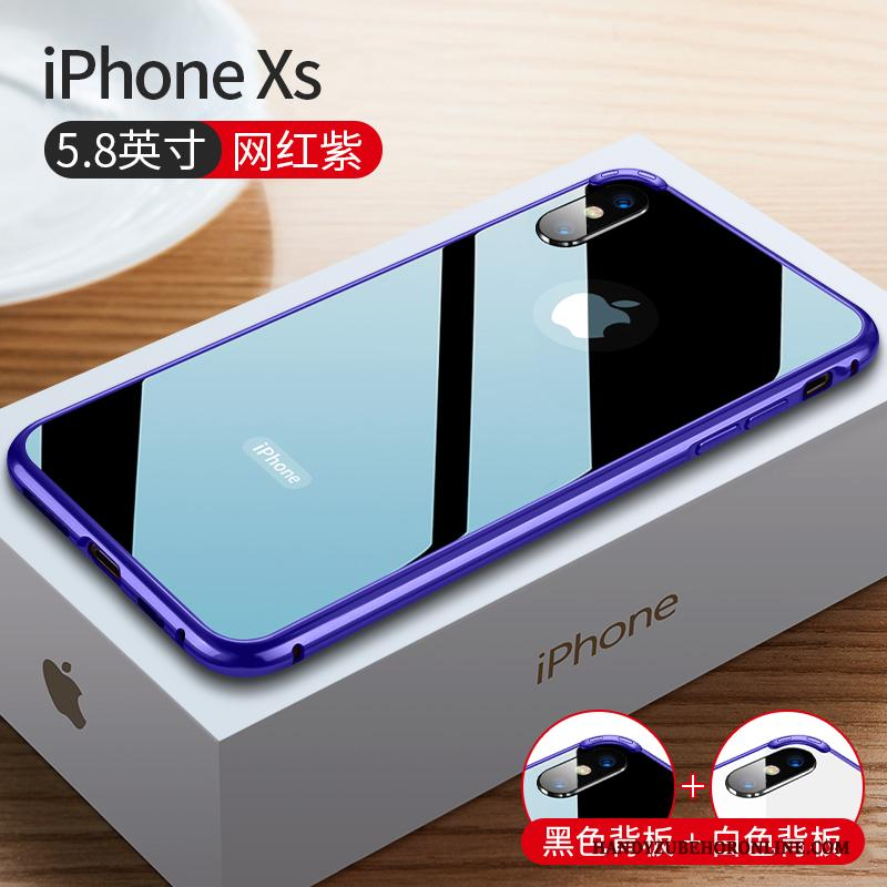 iPhone Xs Hoesje Anti-fall High End Bescherming Dun Hoes Het Uitstralen Omlijsting
