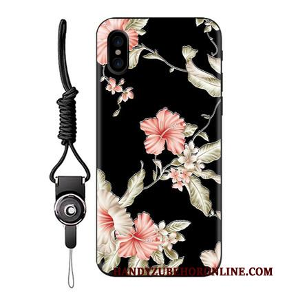 iPhone Xs Hoesje Telefoon Lovers Trend Dun Chinese Stijl Zacht Trendy Merk