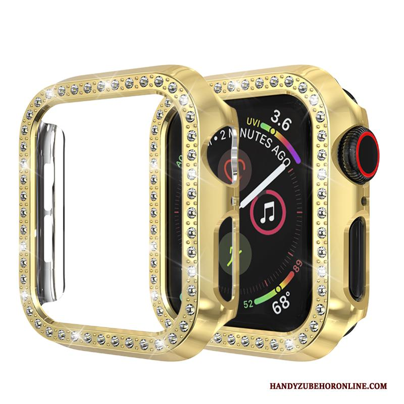 Apple Watch Series 2 Hoesje Strass Bescherming Goud Anti-fall