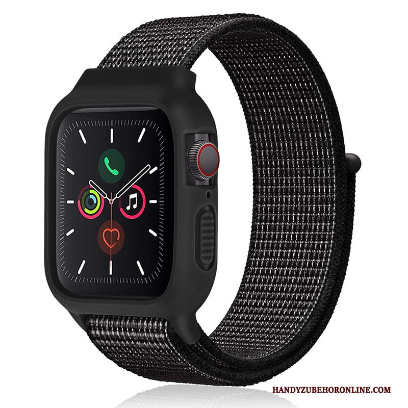 Apple Watch Series 2 Nieuw Hoesje Trend Sport Siliconen Nylon Zwart