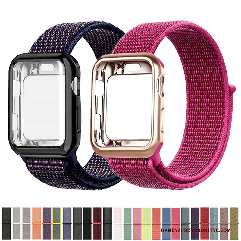 Apple Watch Series 2 Nylon Hoesje Rood