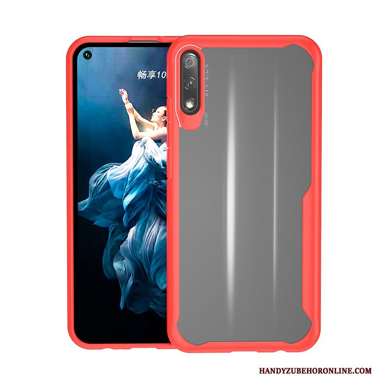 Honor 9x Siliconen High End Gasbag All Inclusive Zacht Hoesje Telefoon Anti-fall