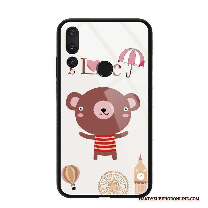 Huawei P Smart+ 2019 Hoesje Siliconen Glas All Inclusive Vers Beren Spiegel Net Red
