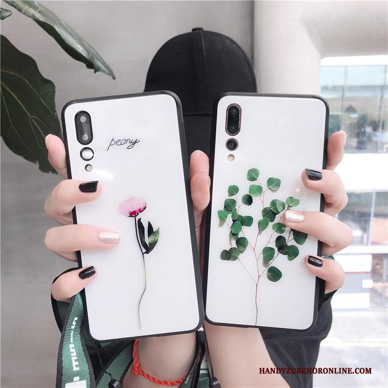 Huawei P20 Pro Hoesje Wit Hoes All Inclusive Vers Lovers Hanger Mini