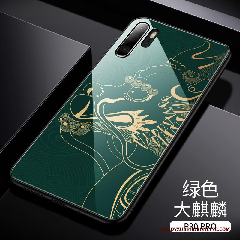 Huawei P30 Pro Hoesje Telefoon Trend Scheppend Trendy Merk High End Anti-fall Chinese Stijl