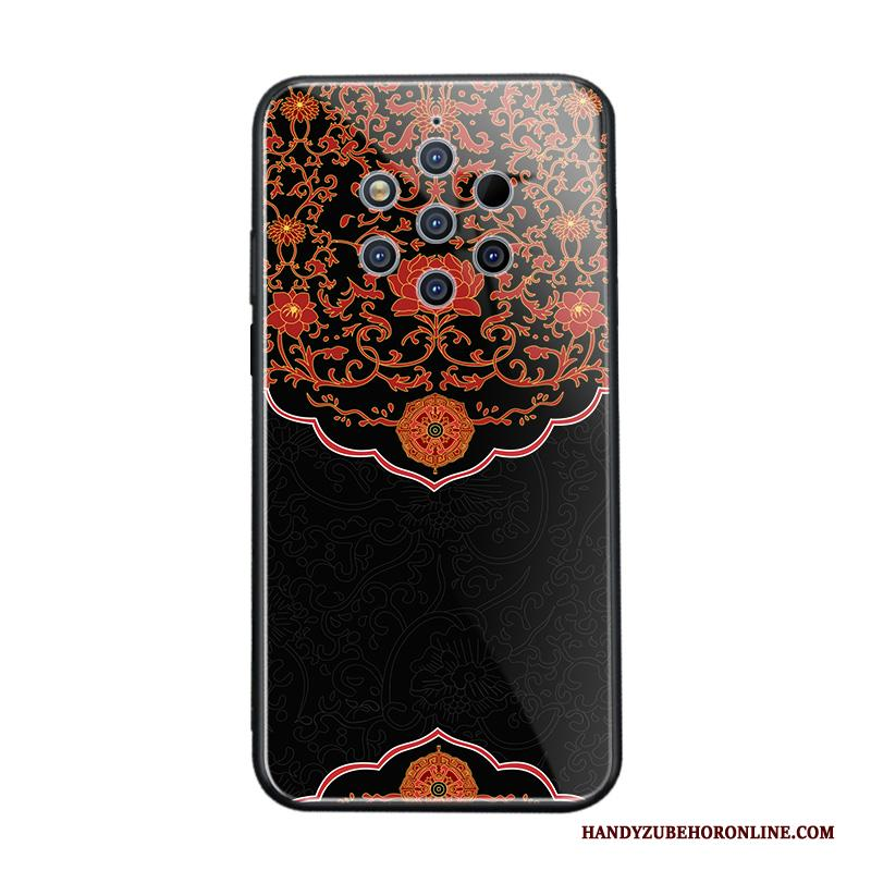Nokia 9 Pureview All Inclusive Net Red Trendy Merk Anti-fall Chinese Stijl Scheppend Hoesje