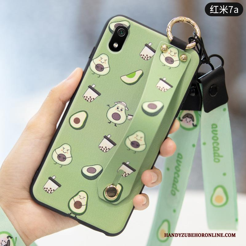 Redmi 7a Hoesje Groen Fruit All Inclusive Vers Schrobben Anti-fall Hoes