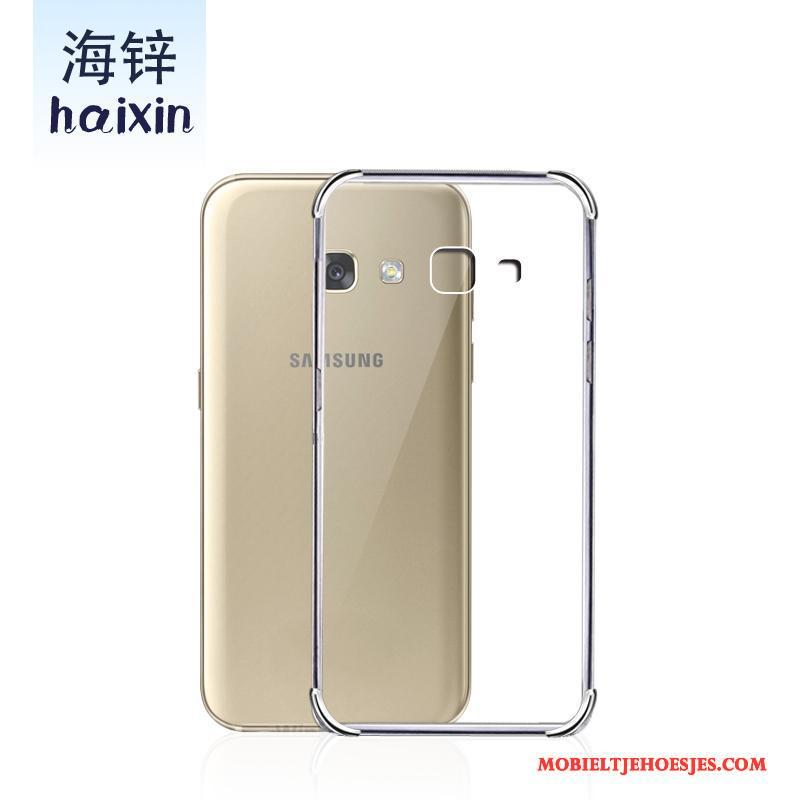 Samsung Galaxy A3 2017 Anti-fall Hoesje Telefoon Ster Bescherming Wit All Inclusive Siliconen