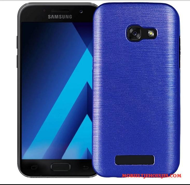 Samsung Galaxy A7 2017 Hoesje Bescherming Anti-fall Ster Zacht Mobiele Telefoon Siliconen All Inclusive