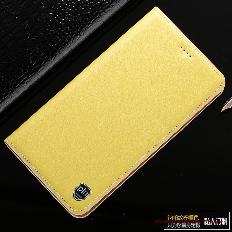 Samsung Galaxy Note 10 Lite Folio Hoesje Telefoon Ster Citroen Leren Etui Patroon Anti-fall
