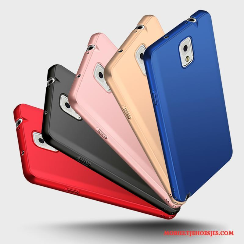 Samsung Galaxy Note 3 Hoes Hoesje Blauw Schrobben Hard Telefoon All Inclusive