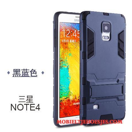 Samsung Galaxy Note 4 Hoesje All Inclusive Hoes Hard Siliconen Trend Eenvoudige Ster