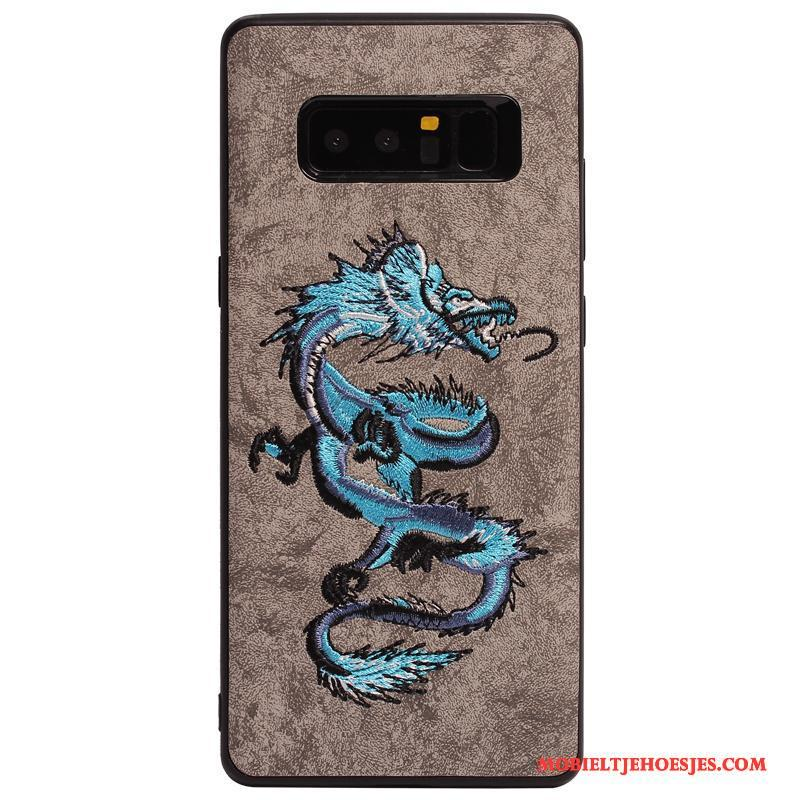 Samsung Galaxy Note 8 Hoesje Telefoon Siliconen Bescherming Anti-fall Licht Ster Persoonlijk
