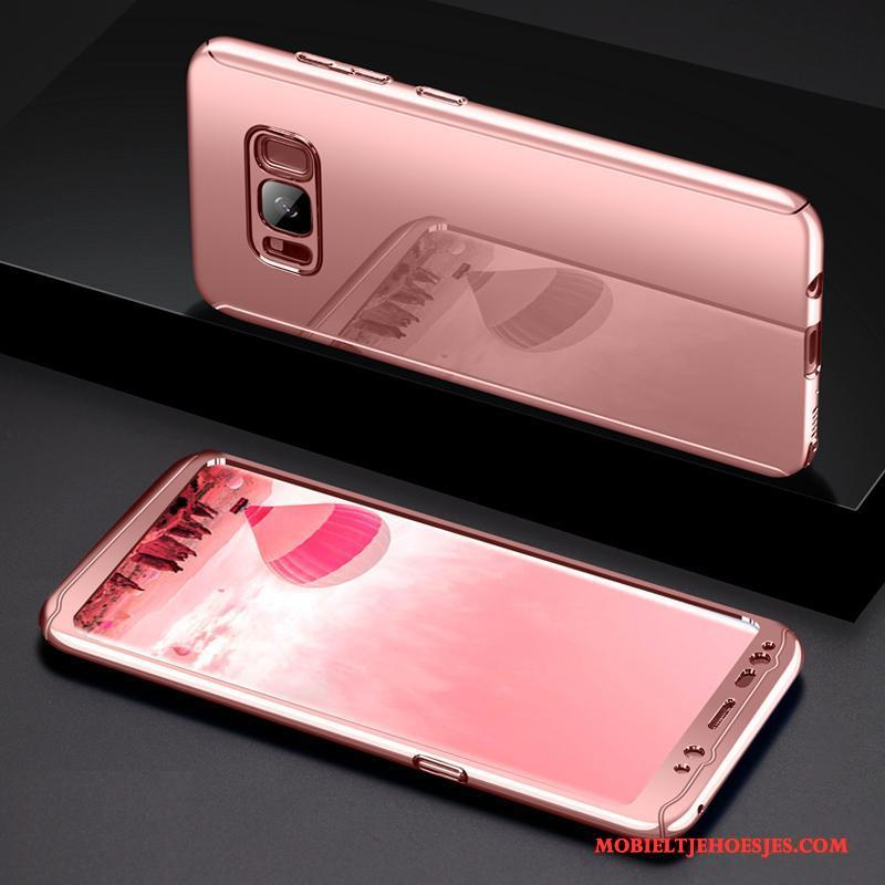 Samsung Galaxy Note 8 Hoesje Telefoon Ster Scheppend Dun Rose Goud All Inclusive Anti-fall