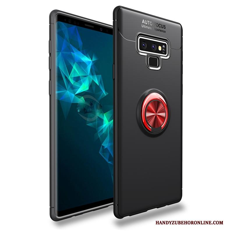 Samsung Galaxy Note 9 Ring Ster All Inclusive Zwart Hoes Bescherming Hoesje Telefoon