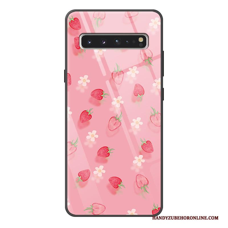 Samsung Galaxy S10 5g Hoesje Hoes Bescherming Siliconen All Inclusive Spotprent Glas Vers