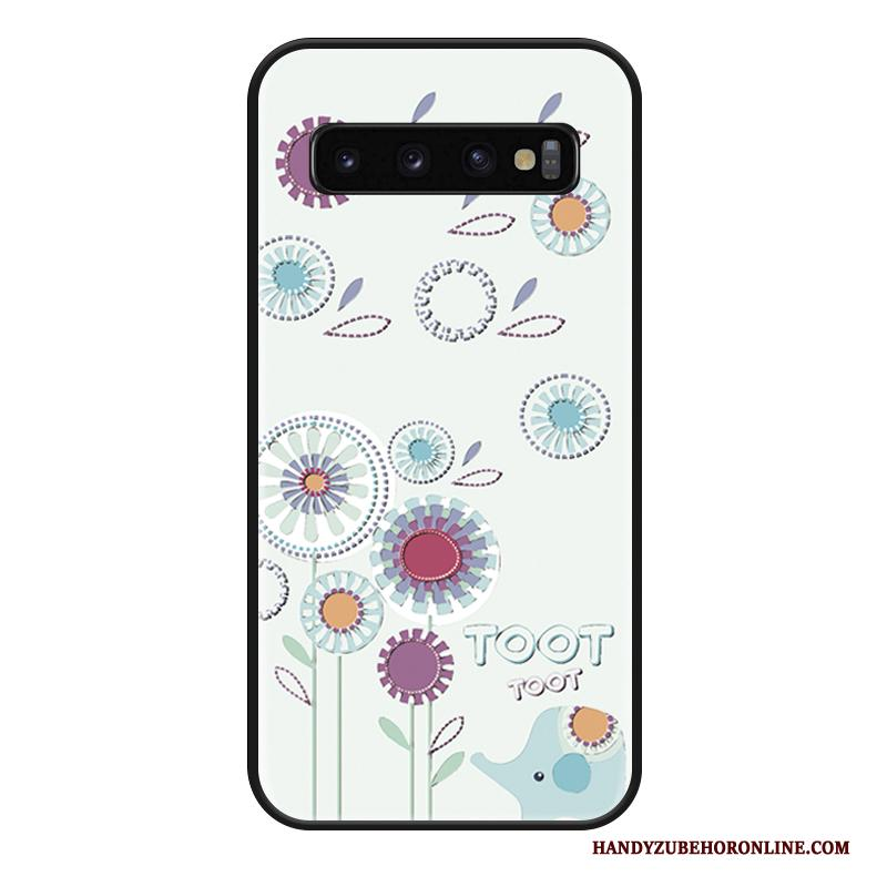 Samsung Galaxy S10 Hoesje Lovers All Inclusive Net Red Ster Hanger Hoes Mode