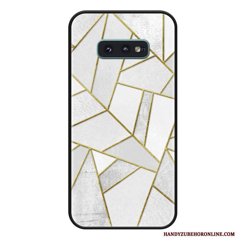 Samsung Galaxy S10e Bedrijf Hoesje Telefoon Lovers Mode All Inclusive Licht Wit