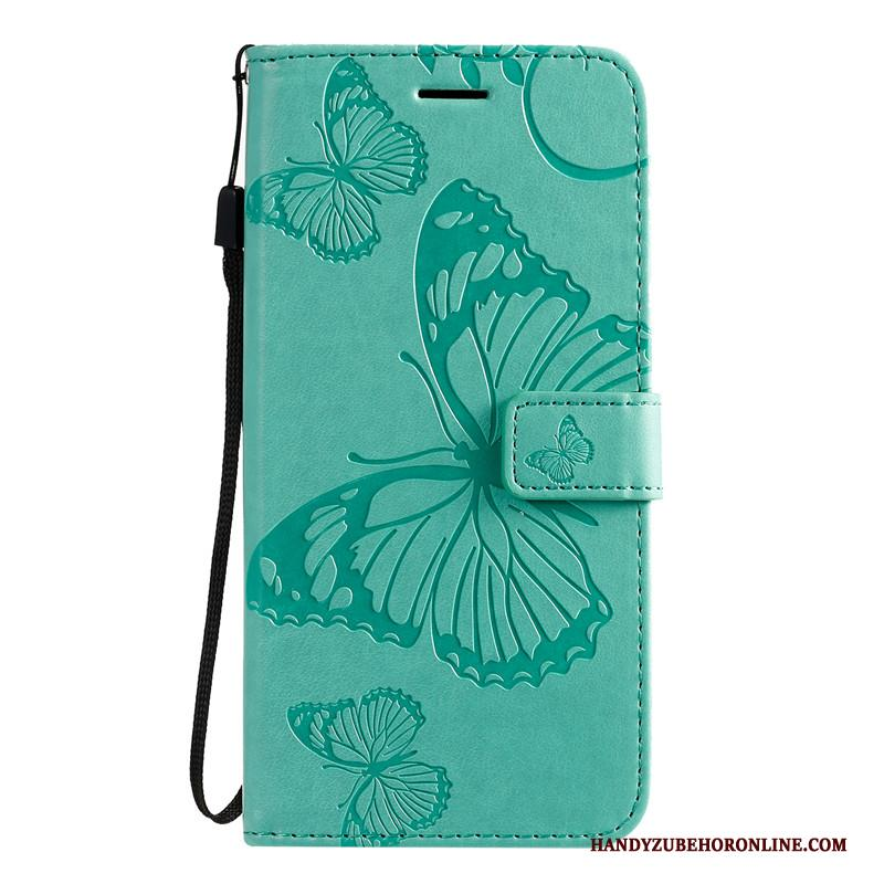 Samsung Galaxy S20 Hoesje Folio Leren Etui Anti-fall All Inclusive Ster Groen Hoes