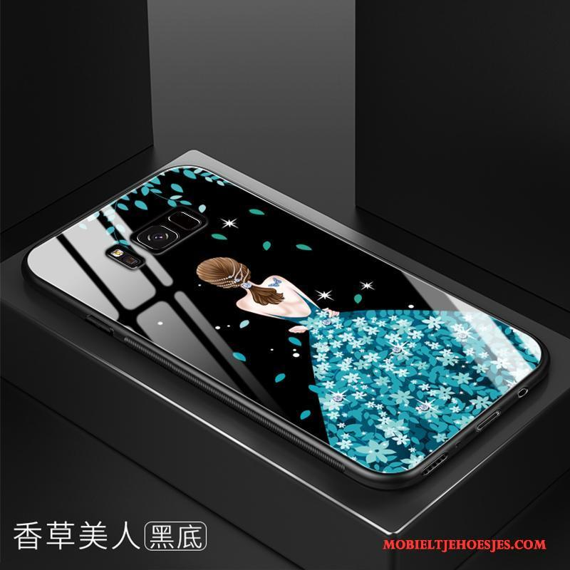 Samsung Galaxy S8+ Trend Siliconen Bescherming Anti-fall Hoes Ster Hoesje