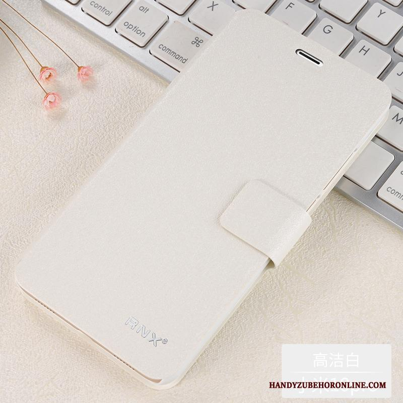 Xiaomi Mi 10 Pro Anti-fall Wit Mini Clamshell All Inclusive Leren Etui Hoesje
