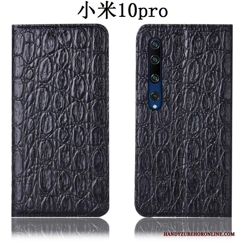 Xiaomi Mi 10 Pro Hoesje All Inclusive Anti-fall Mini Hoes Folio Leren Etui Jeugd