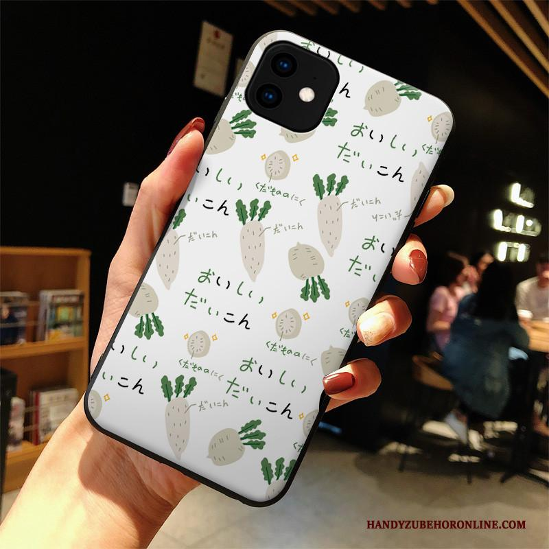 iPhone 11 Anti-fall Hoes Hoesje Telefoon Vers Kunst Siliconen All Inclusive