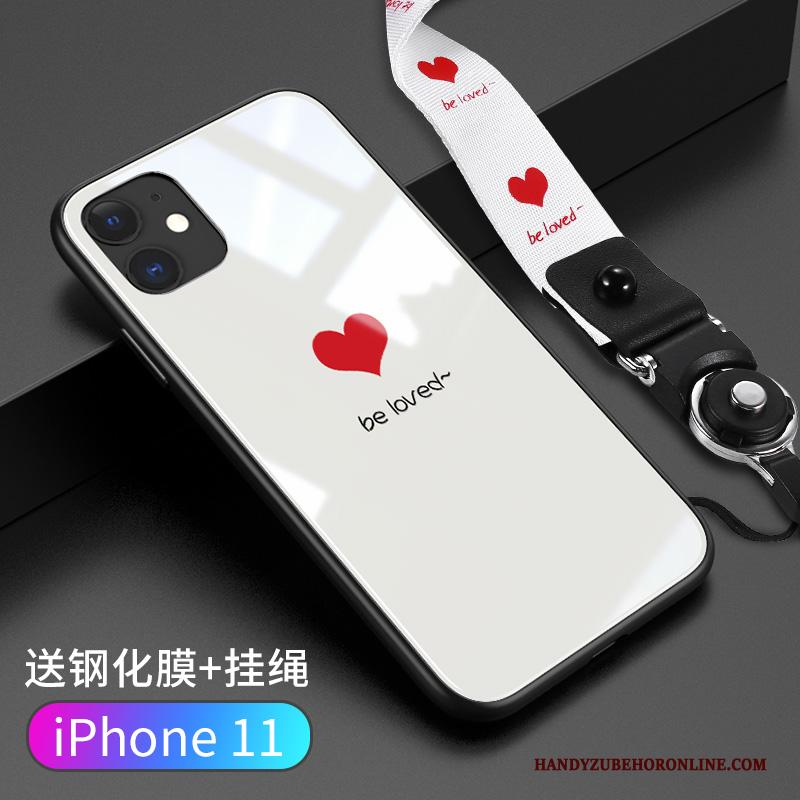 iPhone 11 Lovers Spotprent Hoes Eenvoudige All Inclusive Trend Hoesje Telefoon