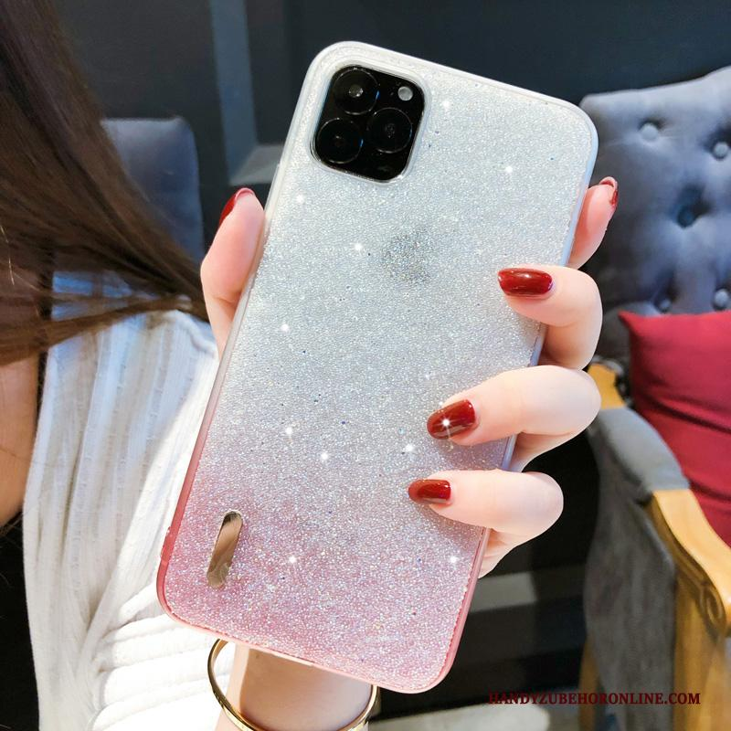 iPhone 11 Pro Met Strass All Inclusive Persoonlijk Roze Hoesje Trend High End