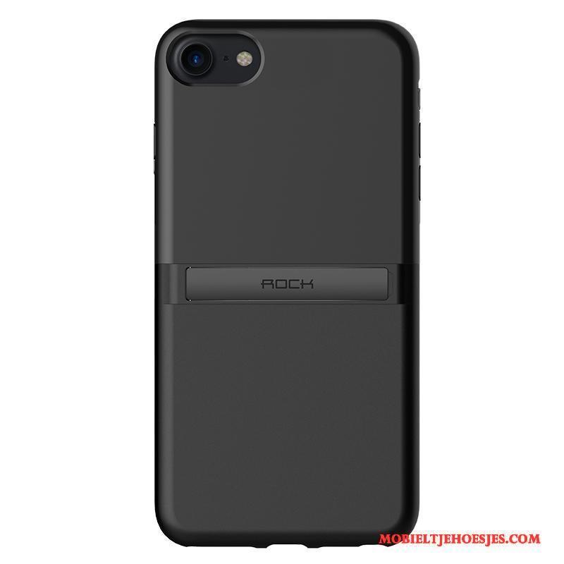 iPhone 7 Hoesje Zwart Anti-fall Nieuw Dun Trend Ondersteuning All Inclusive
