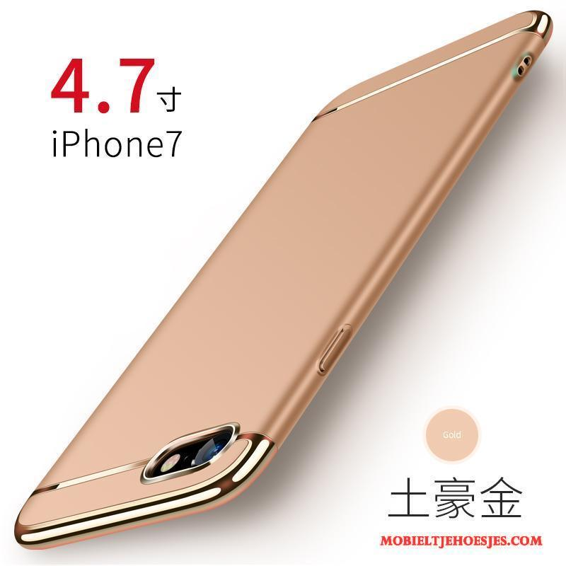 iPhone 7 Mobiele Telefoon Hoes Goud Hoesje Telefoon Anti-fall Hard