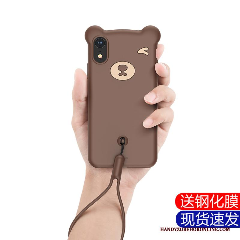 iPhone Xr Hoes Hoesje Telefoon Trendy Merk Dun All Inclusive Fijne Voelen